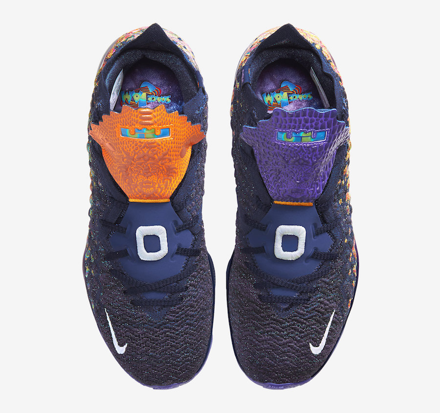 Nike LeBron 17 Monstars Space Jam CD5050-400 Release Date