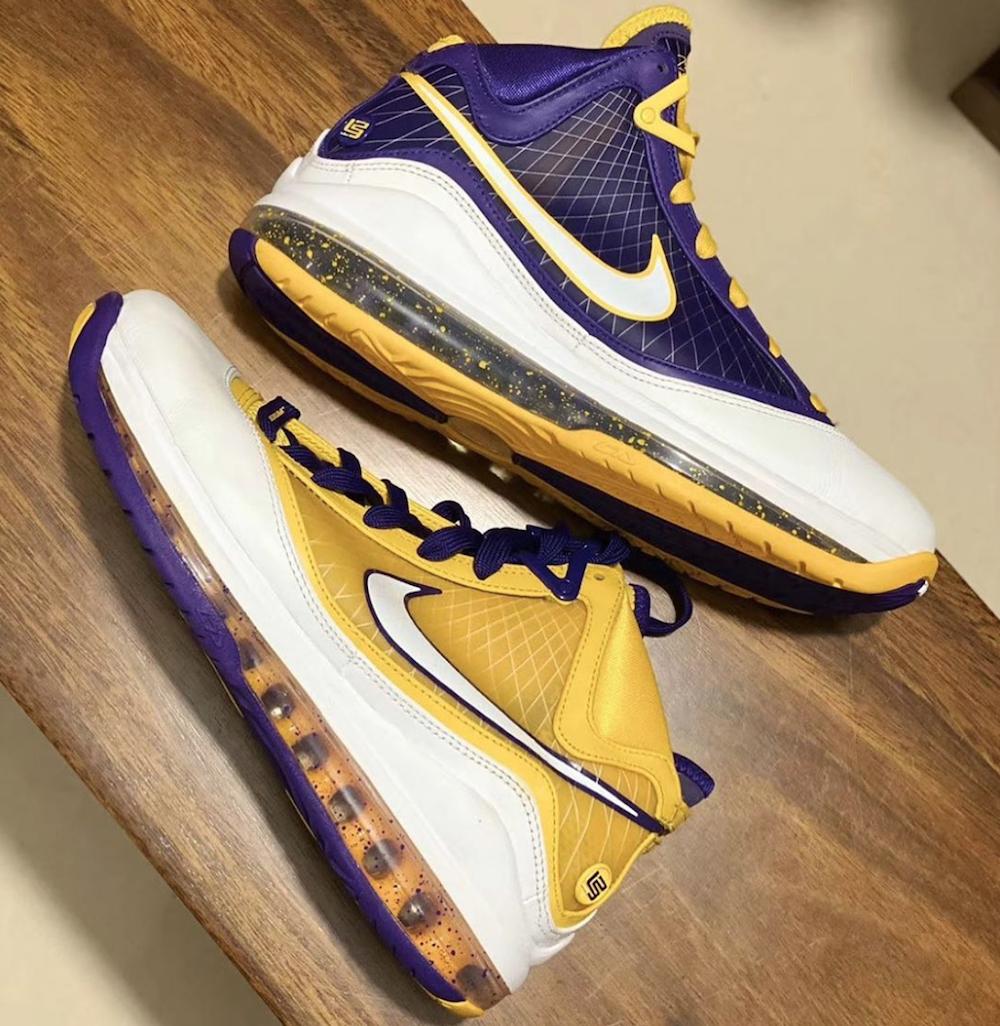 Nike LeBron 7 Lakers Release Date Info