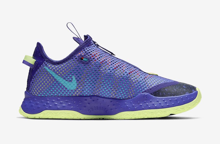 Nike PG 4 Gatorade Purple CD5078-500 Release Date