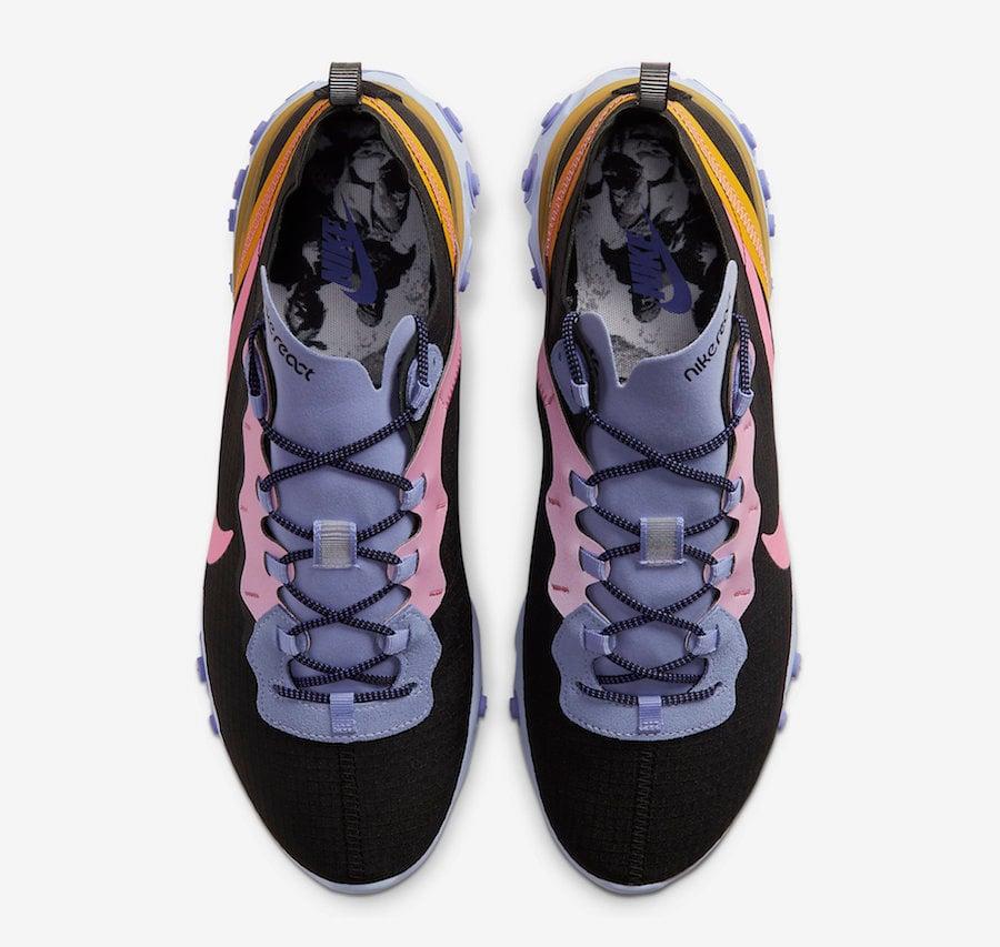 Nike React Element 55 ACG Light Thistle Pollen Rise Magic Flamingo CI9593-001 Release Date Info
