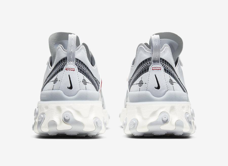 Nike React Element 55 Schematic CU3009-002 Release Date Info