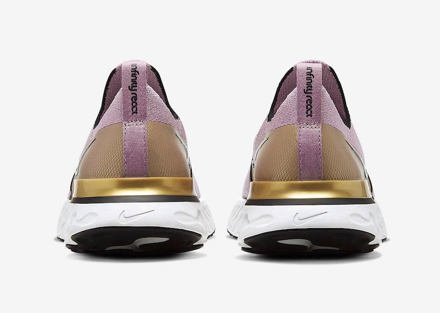 Nike React Infinity Run Plum Fog CD4372-500 Release Date Info