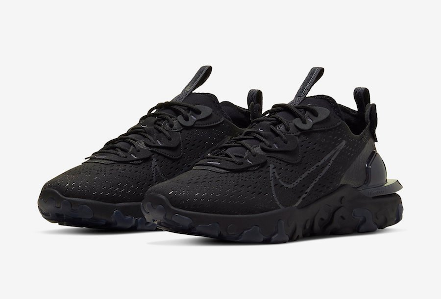 Nike React Vision Black Anthracite CD4373-004 Release Date Info