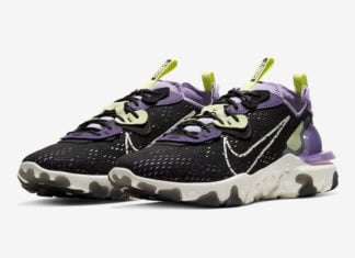 Nike React Vision Gravity Purple Volt CD4373-002 Release Date