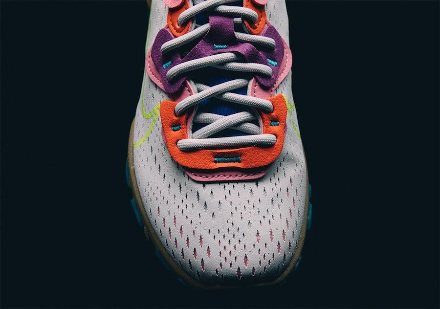 Nike React Vision Photon Dust Lemon Venom Hyper Blue CI7523-001 Release Date Info