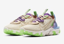 Nike React Vision Tan Green Purple Blue CI7523-200 Release Date Info