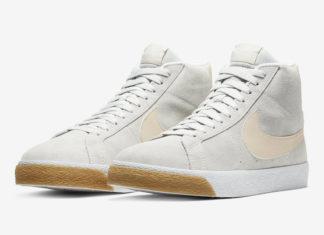 Nike SB Blazer Mid Cream Gum 864349-005 Release Date Info