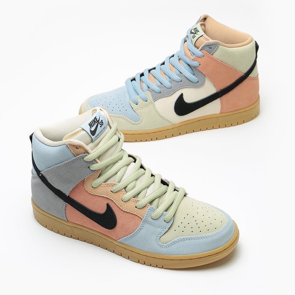 Nike SB Dunk High Easter Spectrum CN8345-001 Release Date