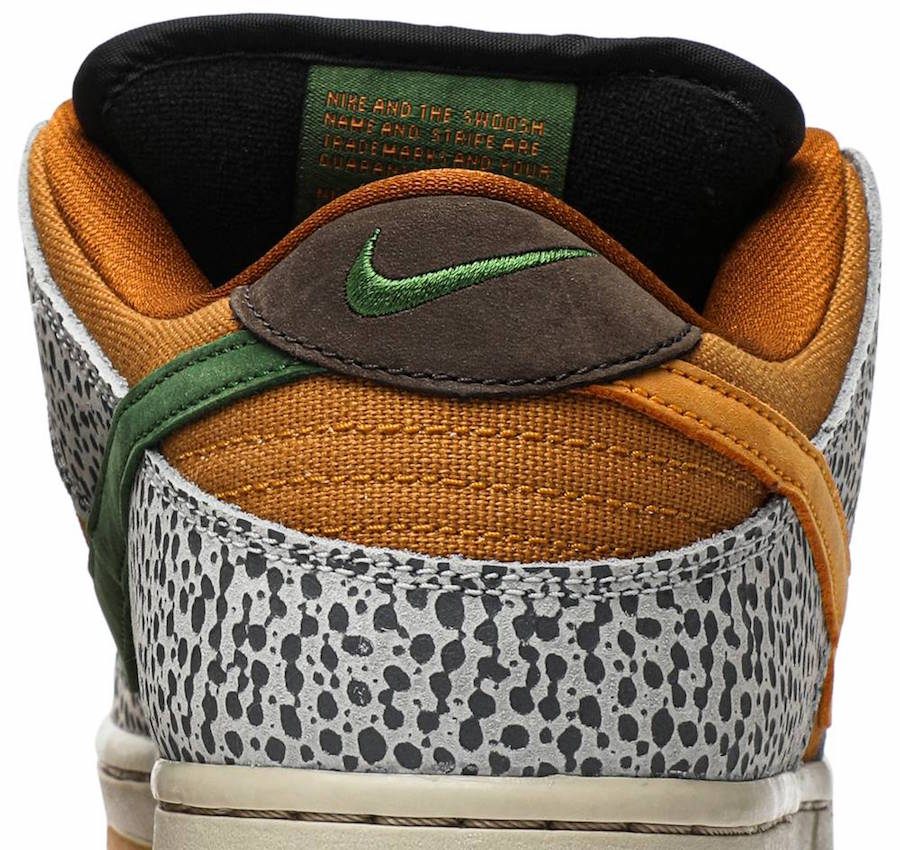 Nike SB Dunk Low Safari CD2563-002 Release Date