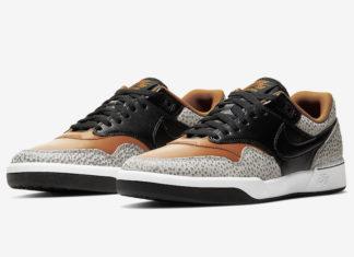 Nike SB GTS Return Premium Safari CV6283-001 Release Date Info