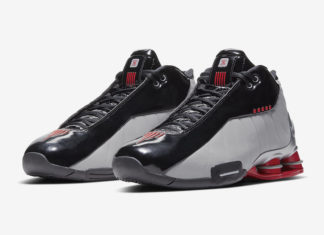 Nike Shox BB4 Black Metallic Silver Red AT7843-003 Release Date Info
