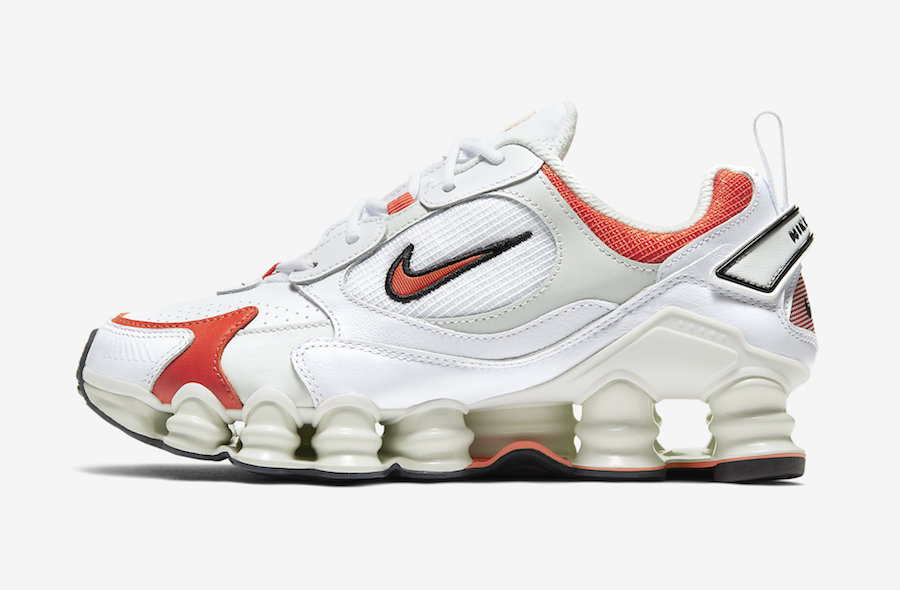Nike Shox TL Nova White Red AT8046-101 Release Date Info
