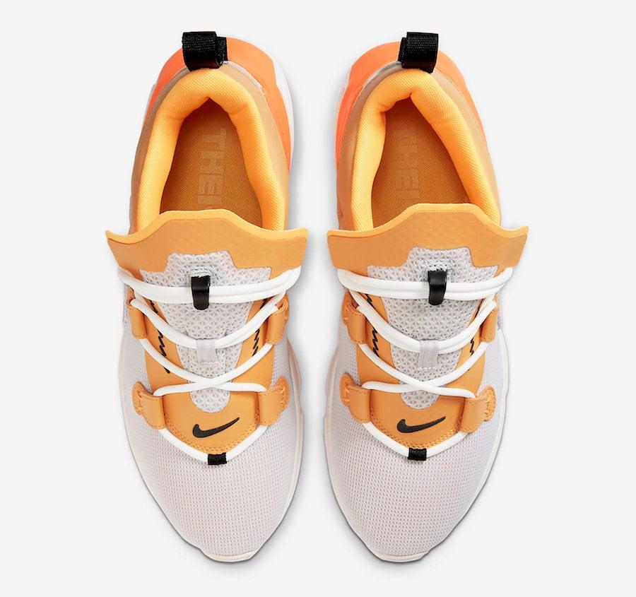 Nike Zoom Moc White Tan Orange AT8695-100 Release Date Info