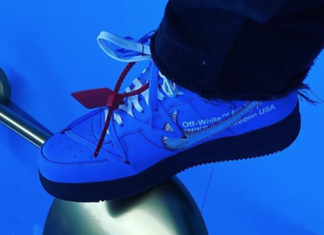 Off-White Nike Air Force 1 Low Blue 2020 Release Date Info