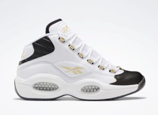 Reebok Question White Black Gold EF7599
