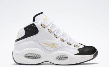 Reebok Question White Black Gold EF7599