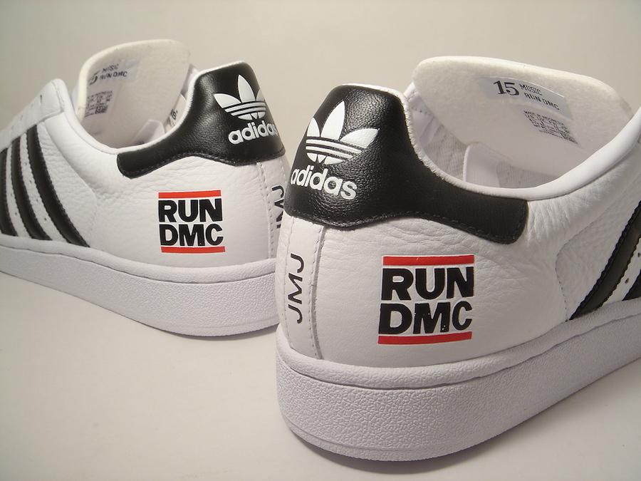 Run DMC adidas Superstar 50th Anniversary Release Date Info