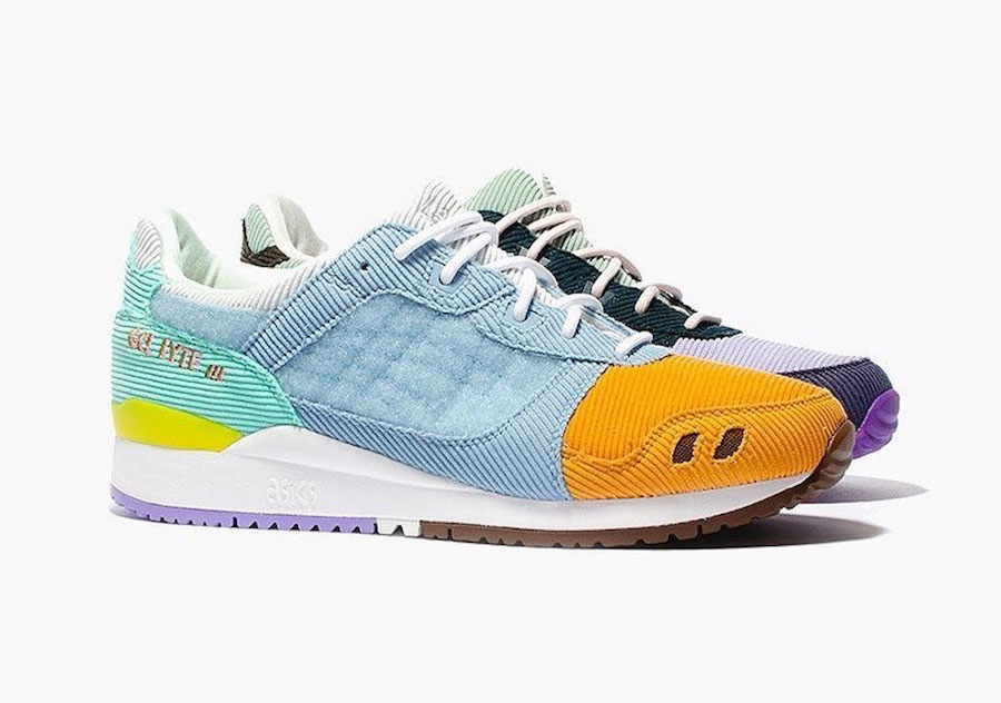 Sean Wotherspoon atmos Asics Gel Lyte III Release Details
