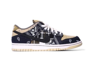 Travis Scott Nike SB Dunk Low QS CT5053-001 Release Details