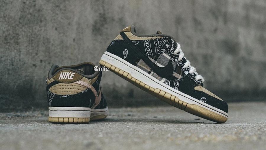 Travis Scott Nike SB Dunk Low CT5053-001 Release Date
