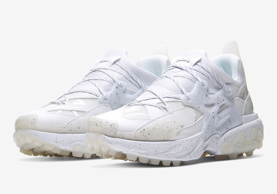 Undercover Nike React Presto White Black CU3459-100 Release Date