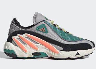 adidas FYW 98 Grey Signal Coral Yellow Tint EG5195 Release Date Info