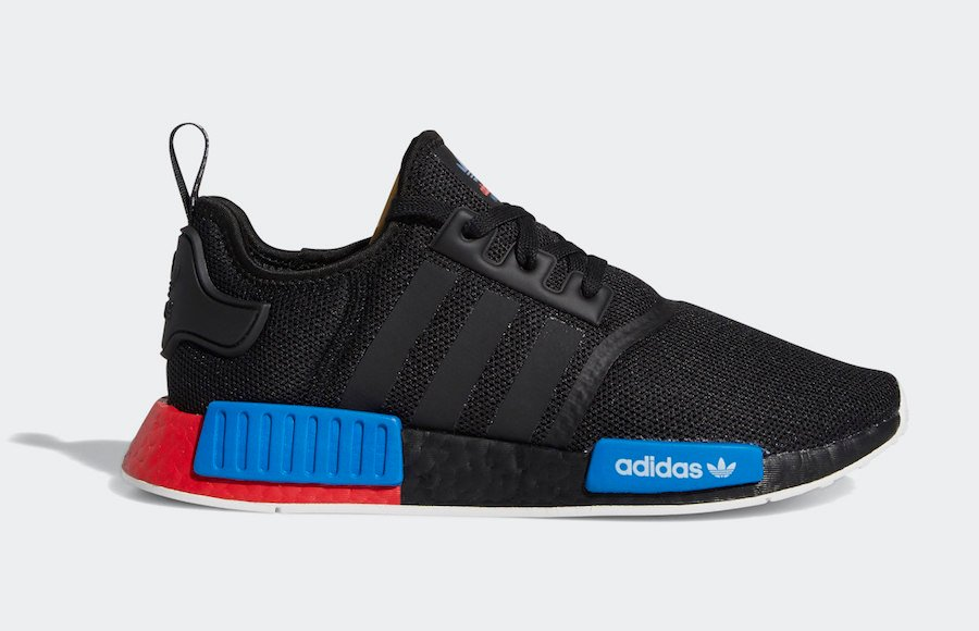 adidas NMD R1 Core Black Lush Red FX4355 Release Date Info
