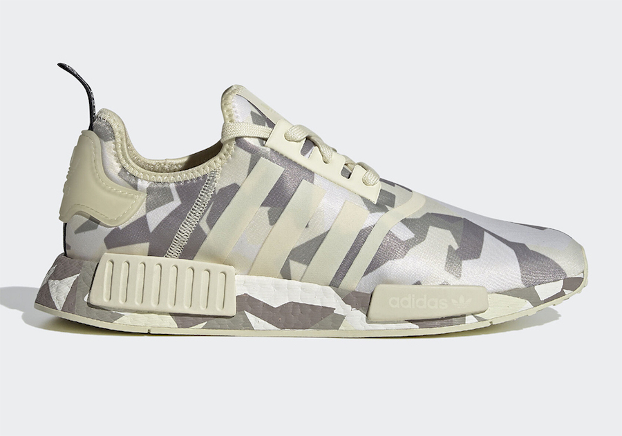adidas NMD R1 Fractal Camo Pack Release