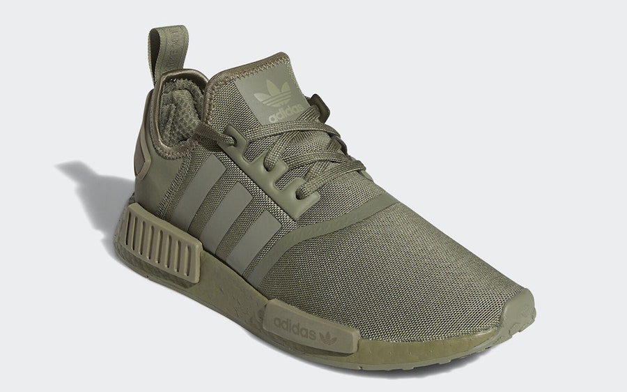 adidas NMD R1 Olive Legacy Green FW6415 Release Date Info