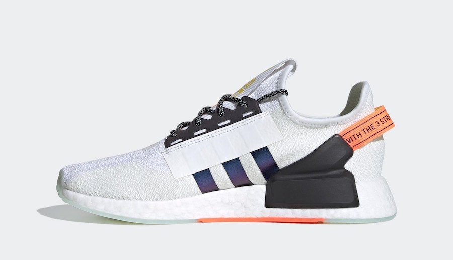 adidas NMD R1 V2 White Solar Red Black FX9451 Release Date Info