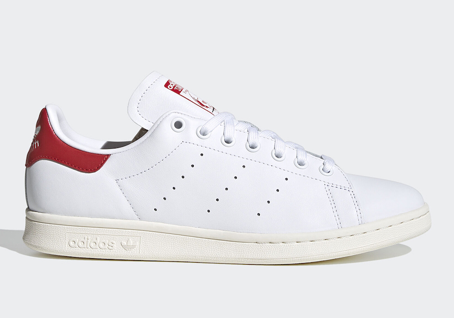 adidas Stan Smith Valentines Day White Red EH1736 Release Date Info