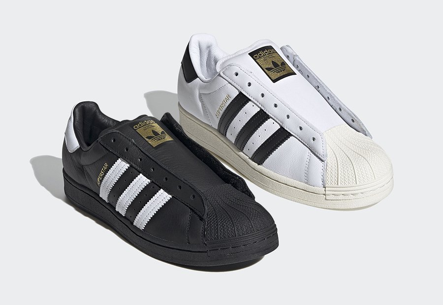 adidas Superstar Laceless Black White Release Date Info