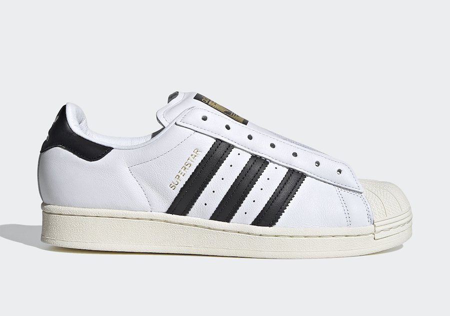 adidas Superstar Laceless White FV3017 Release Date Info