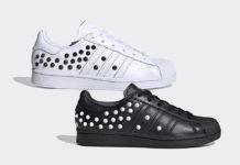 adidas Superstar White FV3344 Black FV3343 Studs Release Date Info