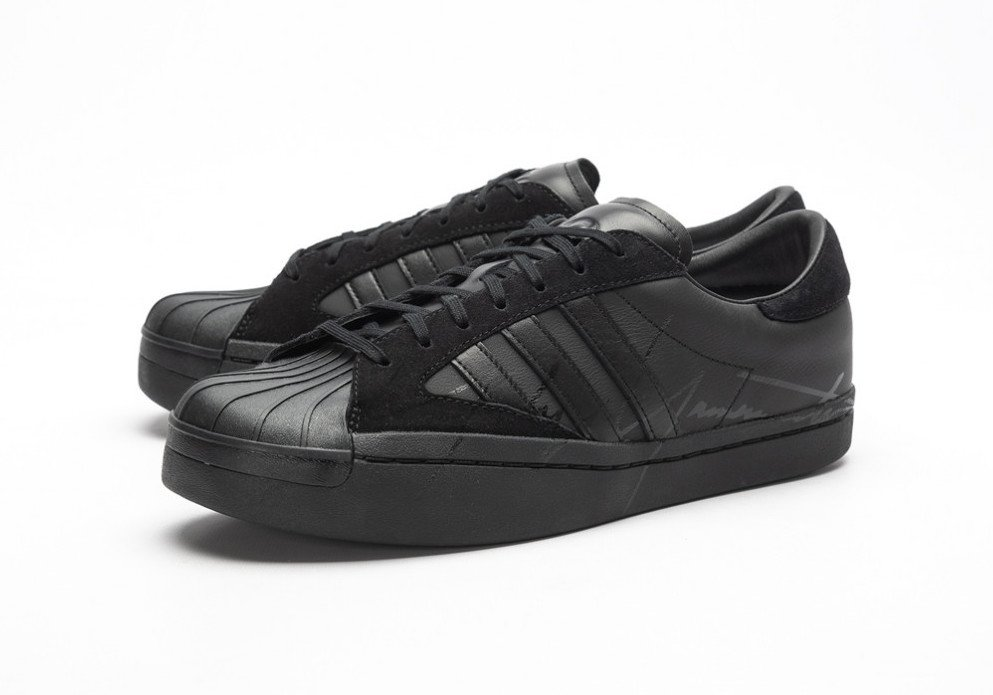 adidas Y-3 Yohji Pro Superstar Skate Low in 'Triple Black'