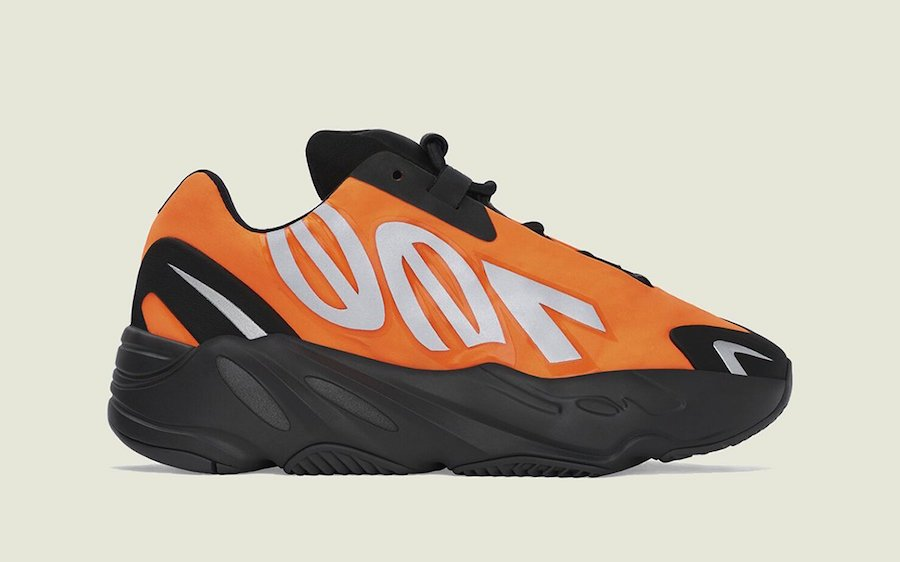 adidas Yeezy Boost 700 MNVN Orange Gradeschool
