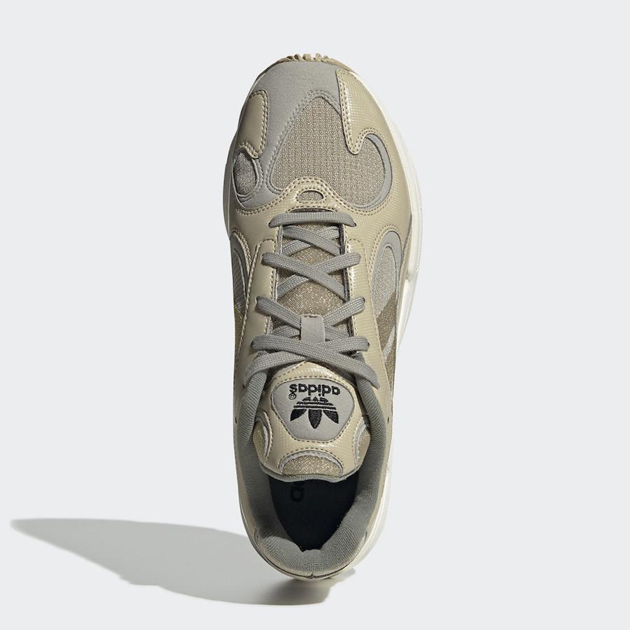 adidas Yung-1 Tan Grey EF5335 Release Date Info