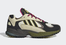 adidas Yung-1 Trail Khaki Black Yellow Pink EF5338 Release Date Info