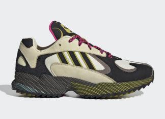 adidas Yung-1 Trail Khaki Black Yellow Pink EF5338 Release Date Info