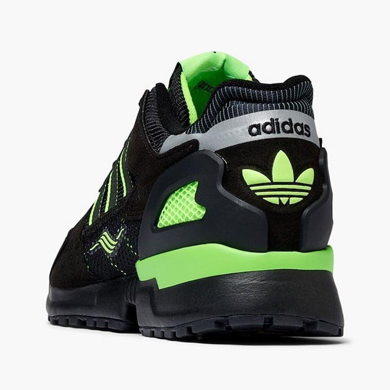 adidas ZX 10000C Black Solar Green EG8964 Release Date Info