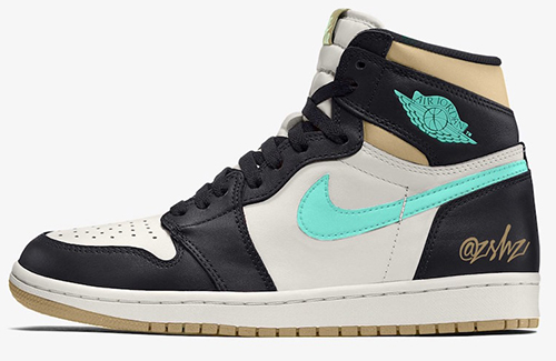 Air Jordan 1 Black Light Army Sail Fresh Mint 2021 Release Date