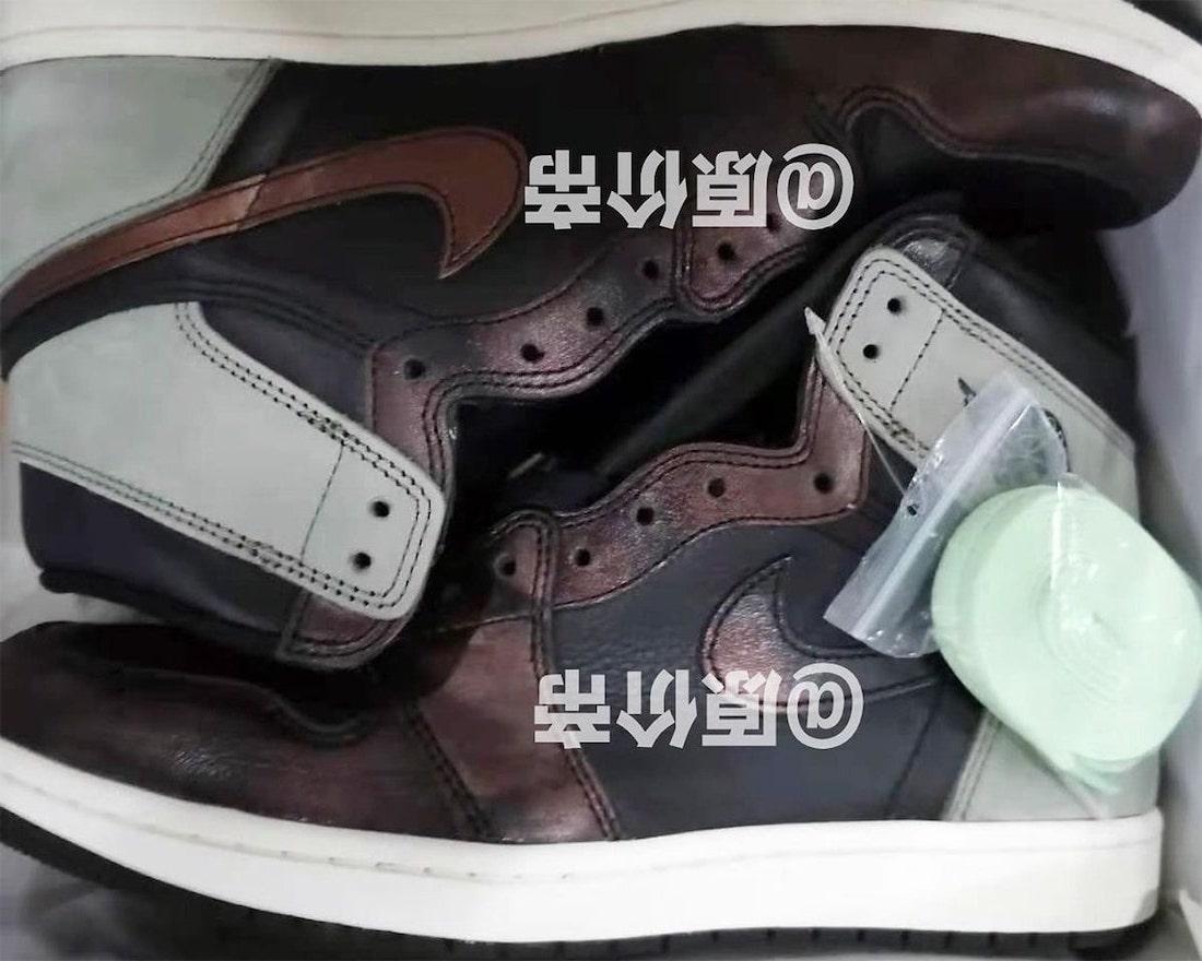 Air Jordan 1 Fresh Mint 555088-033 Leak First Look