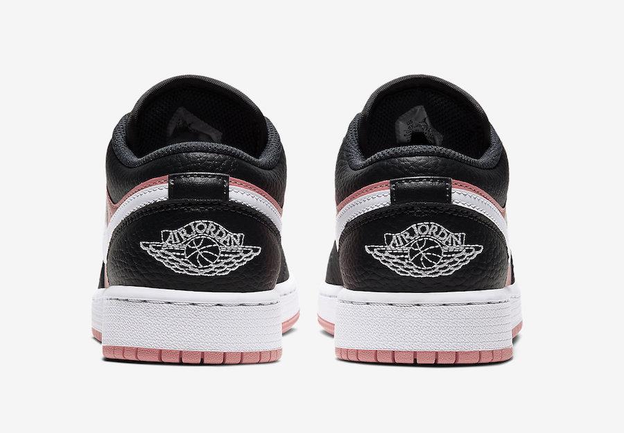 Air Jordan 1 Low GS Pink Quartz 554723-016 Release Date Info
