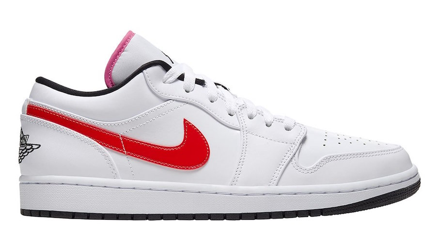 Air Jordan 1 Low White Multi-Color CW7009-100 Release Date Info