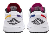 Air Jordan 1 Low White Multi-Color CW7009-100 Release Date Info