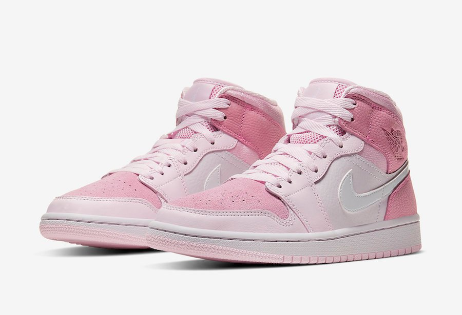 Air Jordan 1 Mid Digital Pink CW5379-600 Release Date Info