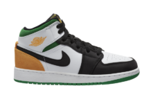 Air Jordan 1 Mid GS Laser Orange Lucky Green BQ6931-101 Release Date Info
