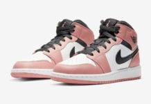 Air Jordan 1 Mid GS Pink Quartz 555112-603 Release Date Info