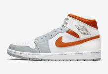 Air Jordan 1 Mid Starfish Orange Platinum CW7591-100 Release Date Info