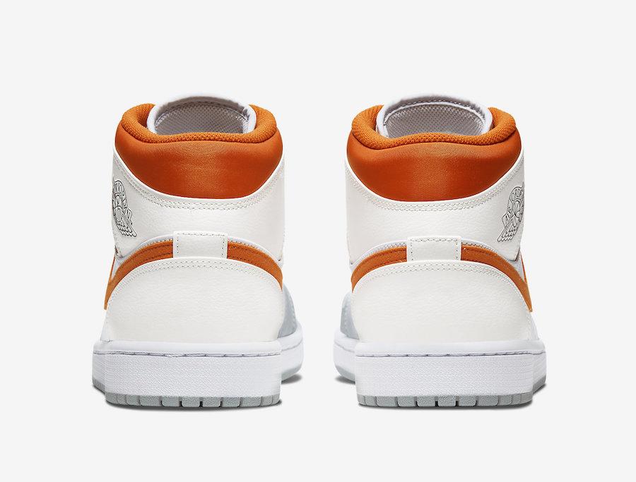 Air Jordan 1 Mid Starfish Orange Platinum CW7591-100 Release Date Info